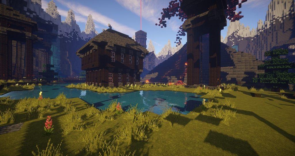 faire une belle maison sur minecraft